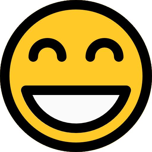 sonriente  icono gratis