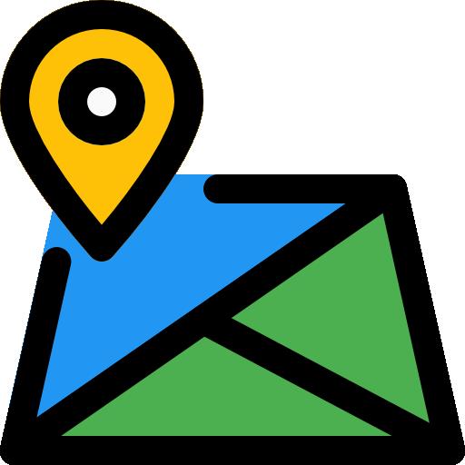 mapa  icono gratis