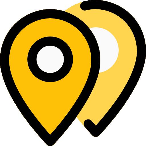 ubicaciones  icono gratis