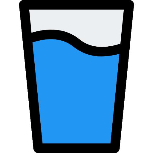 vaso de agua  icono gratis
