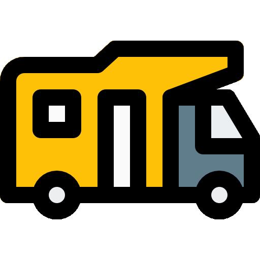 autocaravana  icono gratis