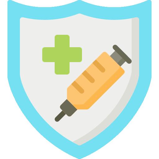 Vaccine  free icon