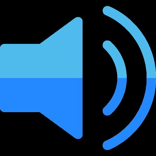 Audio  free icon