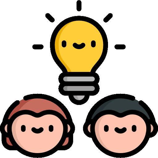 idée de génie  Icône gratuit