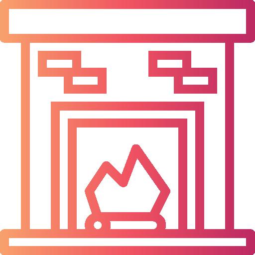 Камин  бесплатно иконка