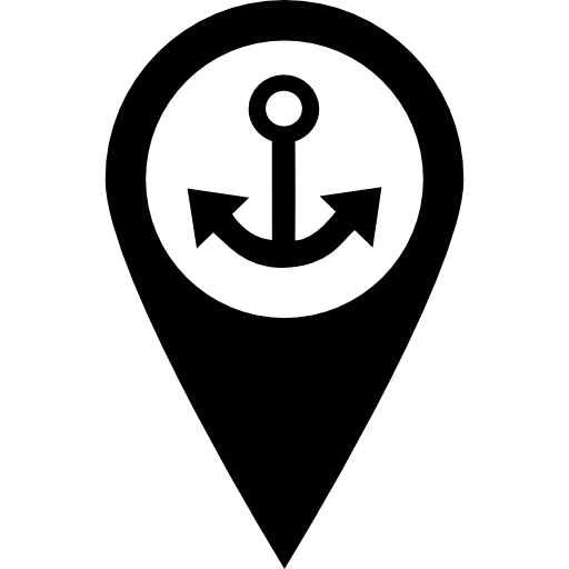Port Sign  free icon