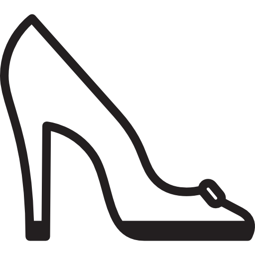 여성 하이힐  무료 아이콘