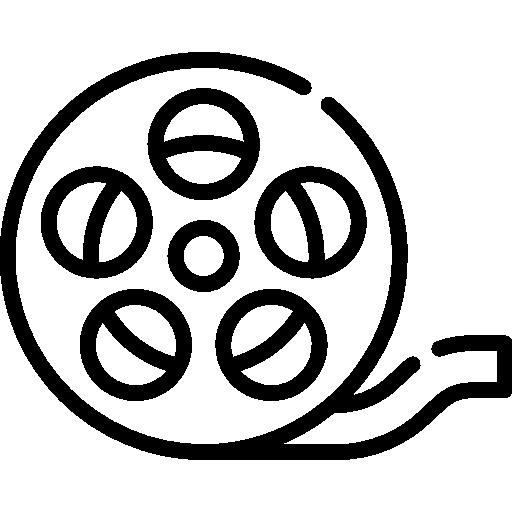 Movie film  free icon