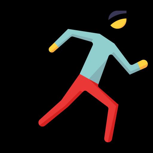 Running man  free icon