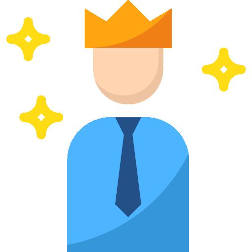 King  free icon