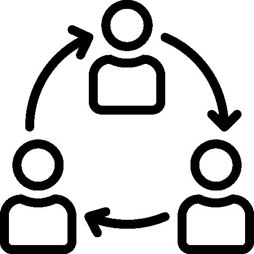 colaboración  icono gratis