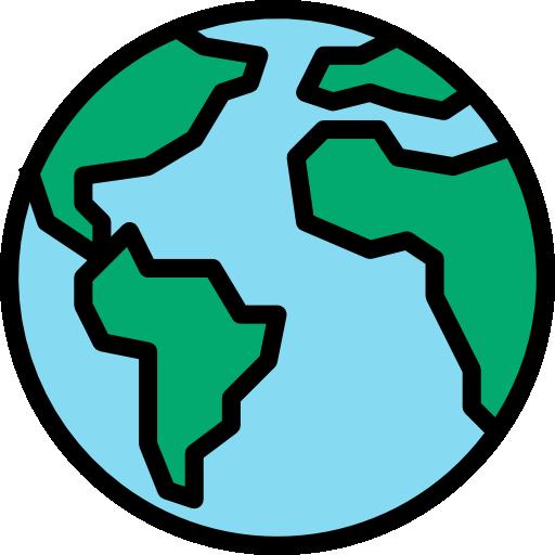 weltweit  kostenlos Icon