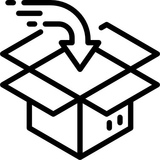 embalaje  icono gratis