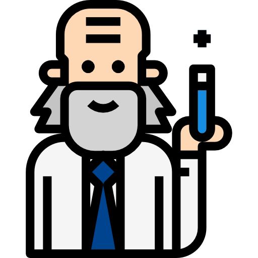 Scientist  free icon