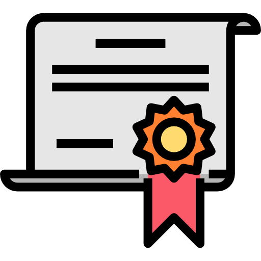 Certificate  free icon