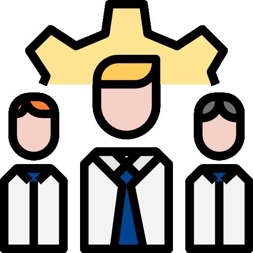 Work team  free icon