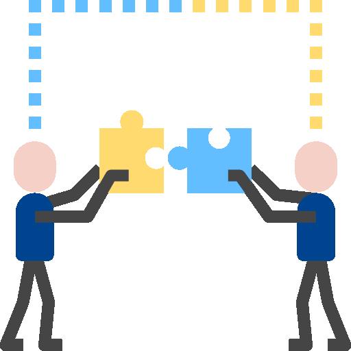 Cooperation  free icon