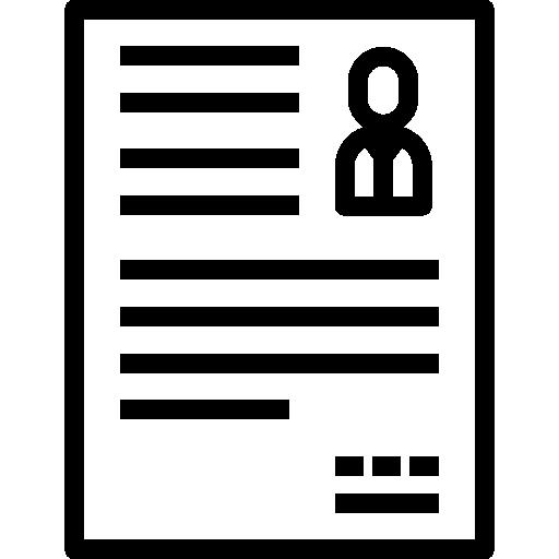 Curriculum  free icon