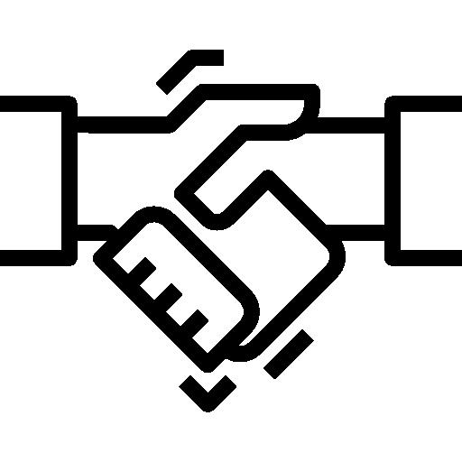 Рукопожатие  бесплатно иконка