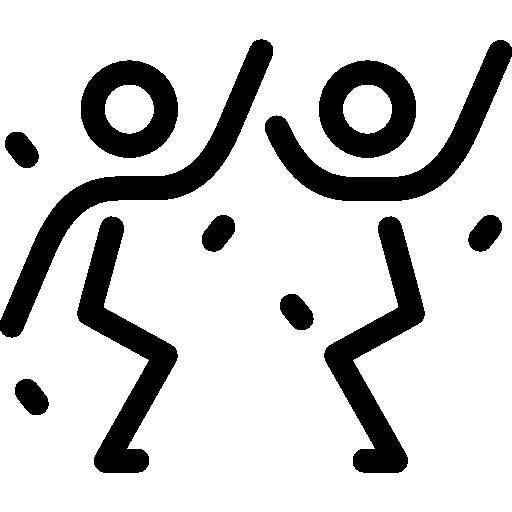 Men Dancing  free icon
