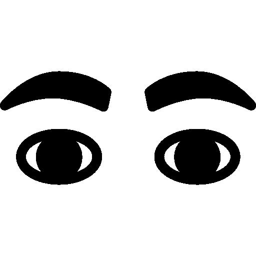 Человеческие глаза  бесплатно иконка