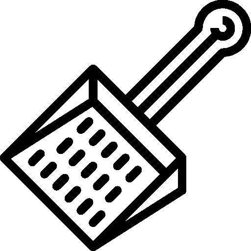 pelle à poussière  Icône gratuit