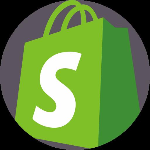 Shopify  free icon