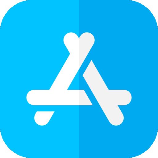 tienda de aplicaciones  icono gratis