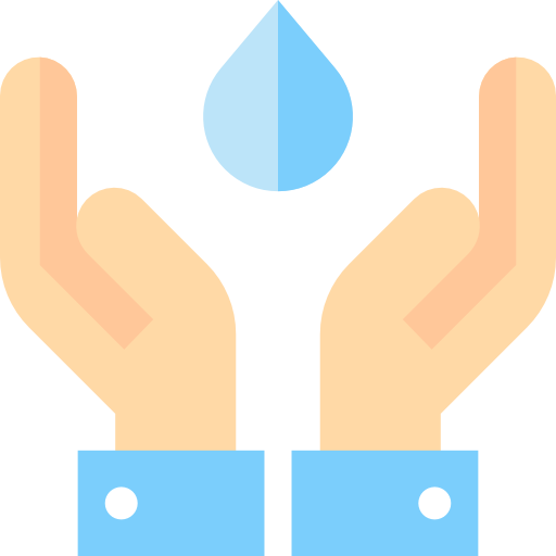 ahorrar agua  icono gratis