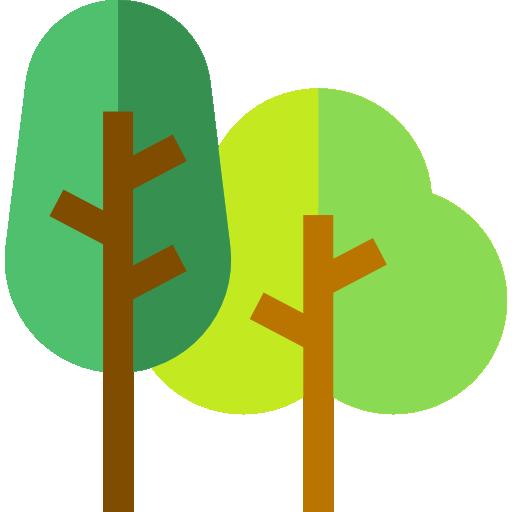 숲  무료 아이콘