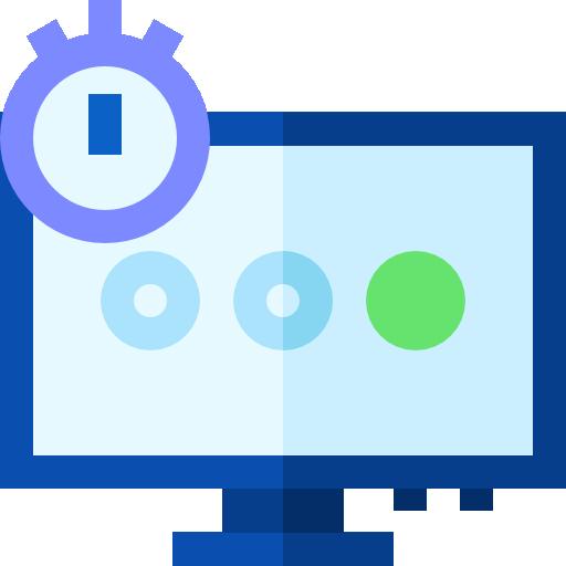 Computer  free icon