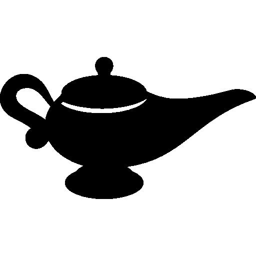 Genie Lamp  free icon