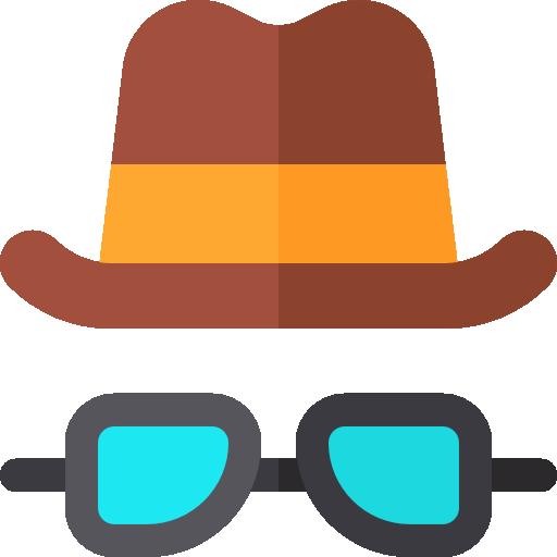 hut und brille  kostenlos Icon