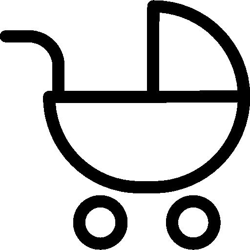 Stroller  free icon
