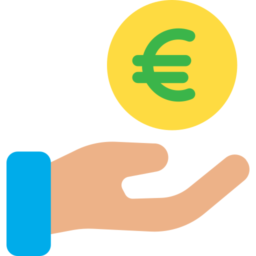 Get money  free icon