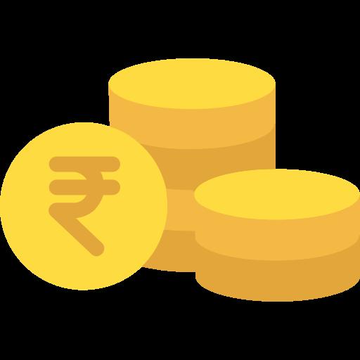 Rupee  free icon