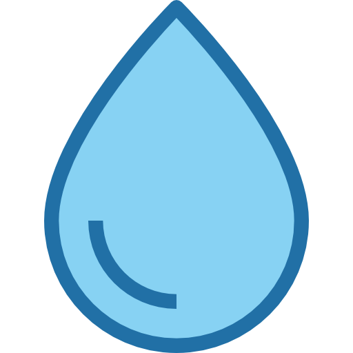 Water drop  free icon