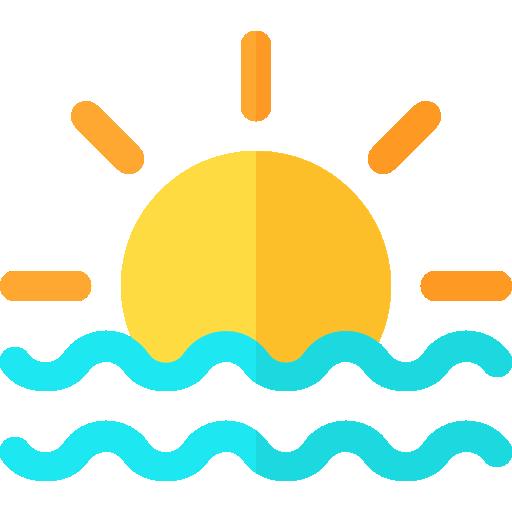 Восход солнца  бесплатно иконка