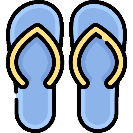 Flip flops  free icon
