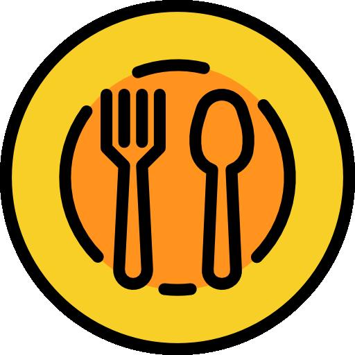 plato  icono gratis