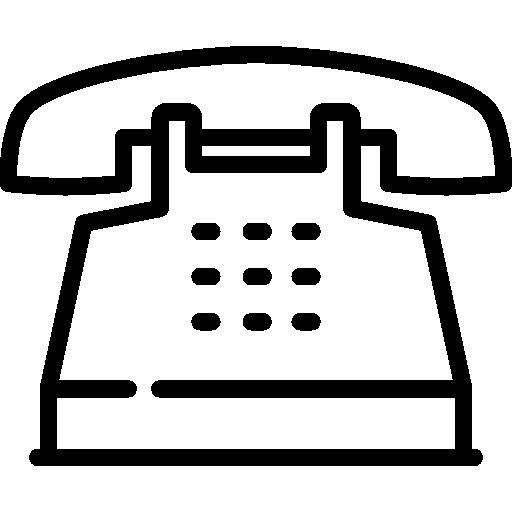 téléphone à boutons poussoirs  Icône gratuit