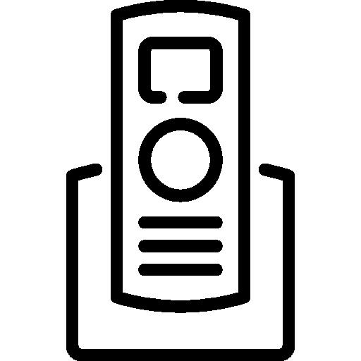 téléphone sans fil  Icône gratuit