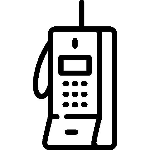 téléphone portable  Icône gratuit