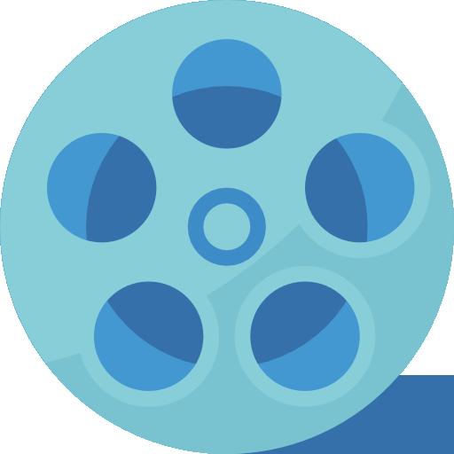 Film roll  free icon