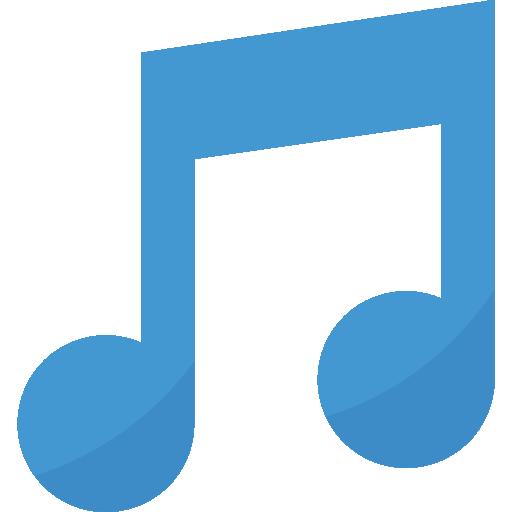 note de musique  Icône gratuit