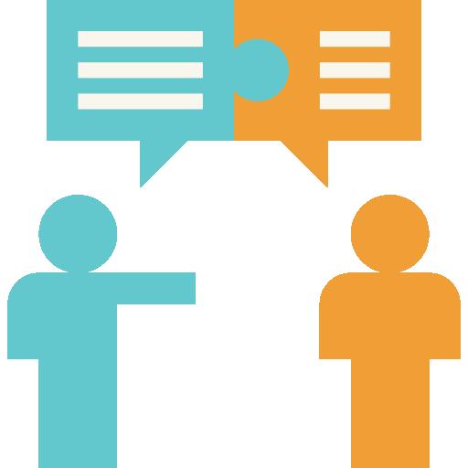 conversation  Icône gratuit