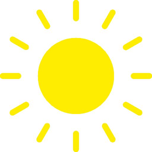 태양  무료 아이콘