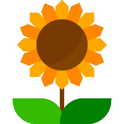 Sunflower  free icon
