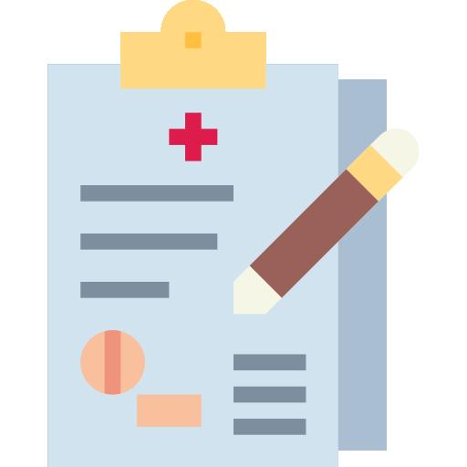 antécédents médicaux  Icône gratuit
