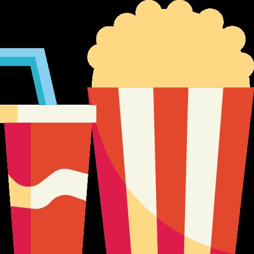 Popcorn  free icon